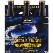 3 Floyds Space Station Middle Finger 6 Pack Bottles