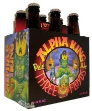 3 Floyds Alpha King 6 Pack Bottles