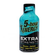 5 Hour Energy Extra Strength Blue Raspberry