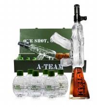 A Team Vodka with Grenades 1000ml