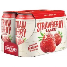 Abita Strawberry Lager 6 Pack Cans