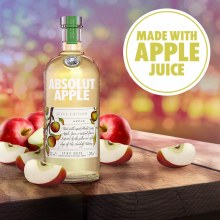 Absolut Juice Apple 750ml