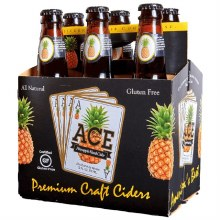 Ace Pineapple 6 Pack Bottles