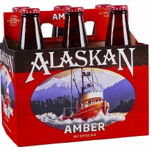 Alaskan Amber 6 Pack Bottle