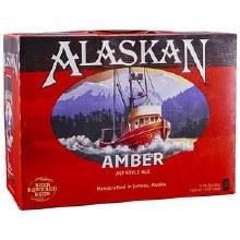 Alaskam Amber Ale 12 Pack Bottles