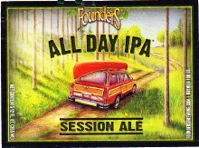 Founders Brewing All Day IPA 1/2 Barrel