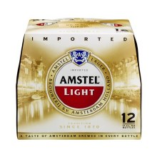 Amstel Light 12 Pack Bottles