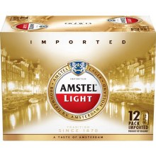 Amstel Light 12 Pack Cans