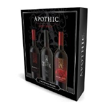 Apothic Gift Pack - 1 Red 1 Dark 1 Crush (3- 750ml bottles)