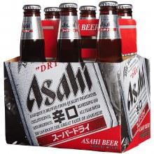 Asahi 6 Pack Bottles