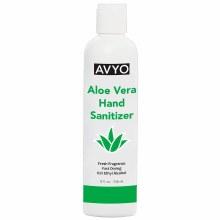 Aloe Vera Hand Sanitizer 8oz