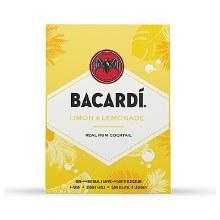 Bacardi Limon & Lemonade 4 Pack Cans