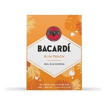 Bacardi Rum Punch 4 Pack Cans