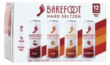 Barefoot Seltzer Variety 12 Pack 8.4oz Cans