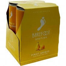 Barefoot Spritzer Pinot Grigio 4 Pack Cans