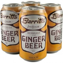 Barrits Ginger Beer 4 Pack Cans