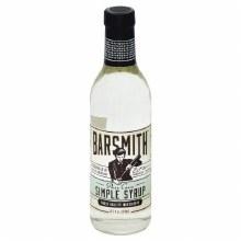 Bar Smith Simple Syrup 12.7oz