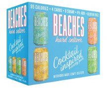 Beaches Hard Seltzer Variety 12 Pack Cans