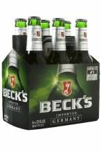Becks 6 Pack Bottles