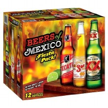 Beers Of Mexico 12 Pack Bottles