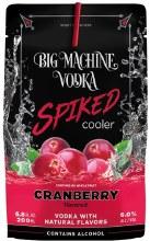 Big Machine Vodka Cranberry 8 Pack Pouches