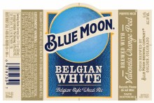 Blue Moon Belgian White 1/2 Barrel