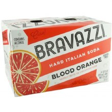 Bravazzi Blood Orange 6 Pack Cans