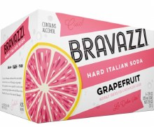 Bravazzi Grapefruit 6 Pack Cans