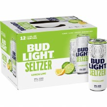 Bud Light Seltzer Lemon Lime 12 Pack Cans