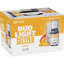 Bud Light Seltzer Mango 12 Pack Cans