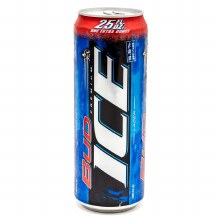 Bud Ice 25oz Can