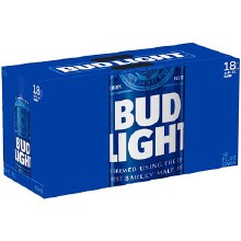 Bud Light 18 Pack 16oz Cans