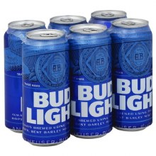 Bud Light 6 Pack 16oz Cans