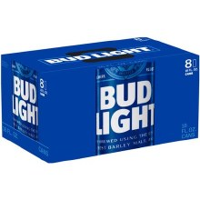 Bud Light 8 Pack 16oz Cans