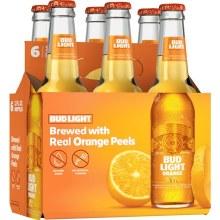 Bud Light Orange 6 Pack Bottles