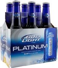 Bud Light Platinum 6 Pack Bottles