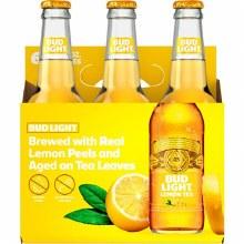 Bud Light Lemon Tea 6 Pack Bottles