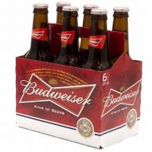 Budweiser 6 Pack Bottles