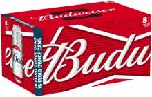 Budweiser 8 Pack 16oz Cans