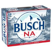 Busch NA 12 Pack Cans