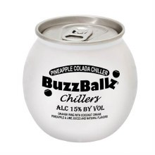 Buzzballz Chillers Pineapple Chiller 187ml