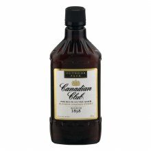 Canadian Club 750ml Plastic
