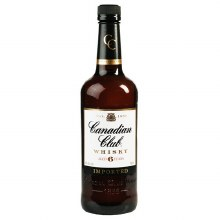 Canadian Club 750ml Glass