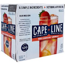Cape Line Strawberry Lemonade 6 Pack Cans
