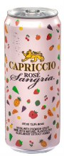 Capriccio Rose Sangria 375ml Can