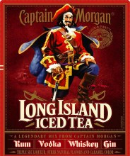 Captain Morgan Long Island Iced Tea 750ml Plastic