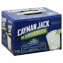 Cayman Jack Margarita 12 Pack Cans