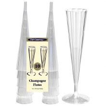 Champagne Flutes 5oz 10 Pack