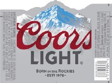 Coors Light 1/2 Barrel