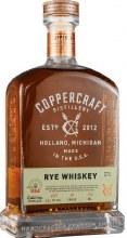 Coppercraft Straight Rye Whiskey 750ml